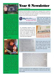 Newsletter 1-5-20